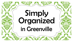 Simply Organized in Greenville